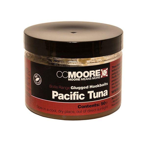 CC MOORE Pacific Tuna Glugged Hookbait Boilies masaliniai boiliai (10x14 mm, 50 vnt.)