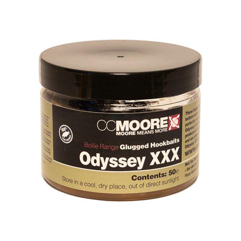 CC MOORE Odyssey XXX Glugged Hookbait Boilies masaliniai boiliai (10x14 mm, 50 vnt.)