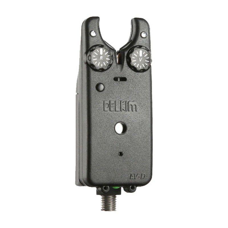DELKIM Ev-D Digital Bite Alarm kibimo signalizatorius (geltonas)