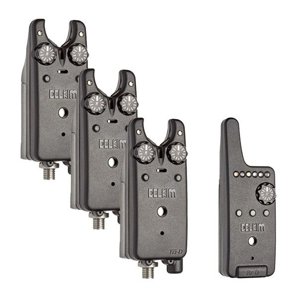 DELKIM Txi-D Digital Bite Alarms Set signalizatorių komplektas (3+1)