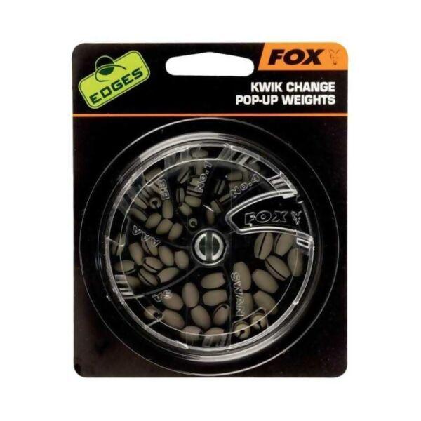 FOX Edges Kwik Change Pop Up Weights svareliai (AAA)