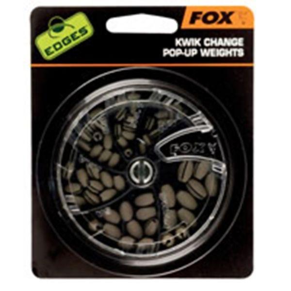 FOX Edges Kwik Change Pop Up Weights svareliai (SWAN)