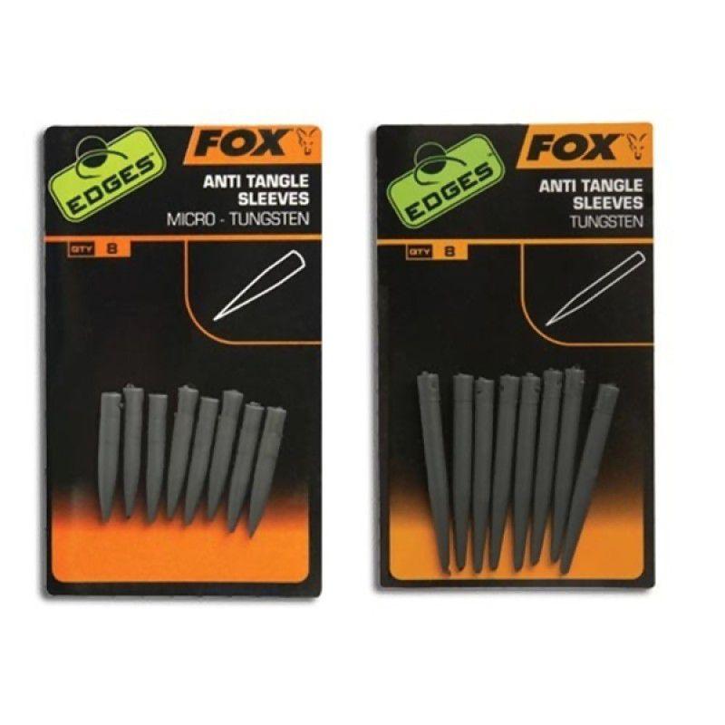 FOX Edges Tungsten Anti Tangle Sleeves volframinės movos (standartinės, 8 vnt.)