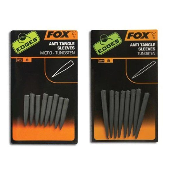 FOX Edges Tungsten Anti Tangle Sleeves Micro vamzdelis