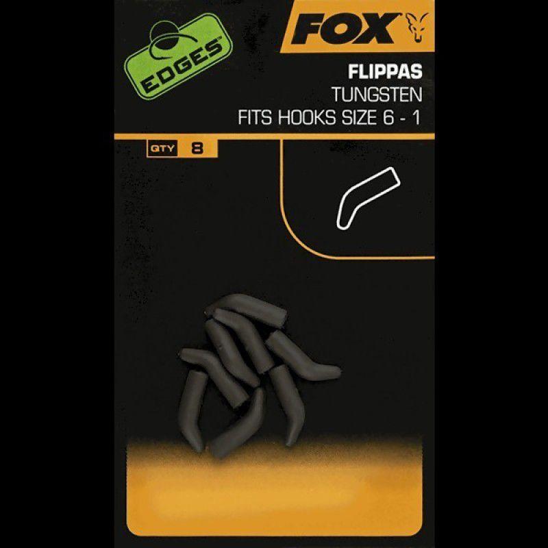 FOX Edges Tungsten Flippas volframiniai vamzdeliai (1-6 dydžio kabliukams, 8 vnt.)
