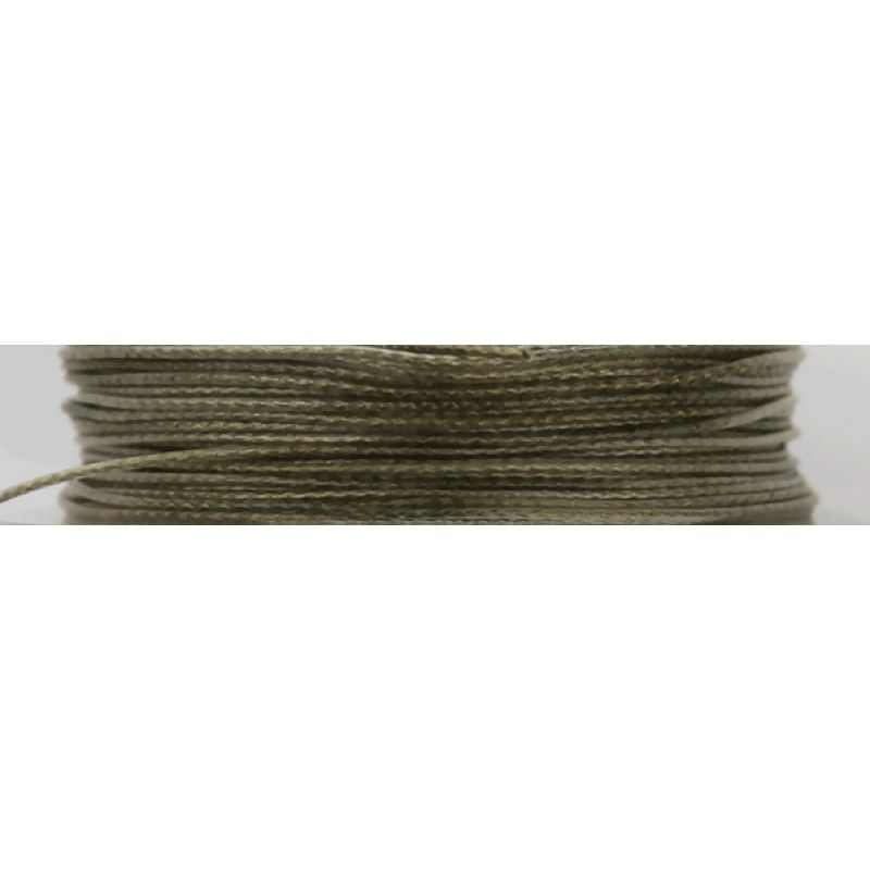 FOX Edges Camotex Soft Coated Braid Hooklink Line Camo pintas valas pavadėliams (9.07 kg / 20 lb, 20 m)