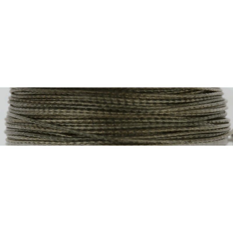 FOX Edges Camotex Semi-Stiff Coated Braid Hooklink Line Camo pintas valas pavadėliams (11.3 kg / 25 lb, 20 m)