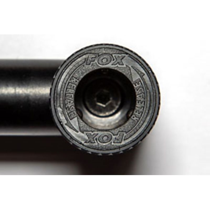 FOX Black Label QR Ajustable Buzz Bars Set meškerių skersinių komplektas (3 meškerėms, 230 - 260 mm, 2 vnt., reguliuojami)
