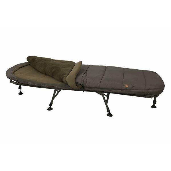 FOX Flatliner 6 Leg 5 Season Sleep System gulto ir miegmaišio komplektas