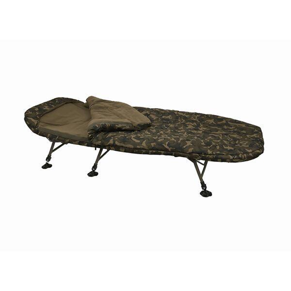 FOX R-Series Camo Sleep System gultas su miegmaišiu