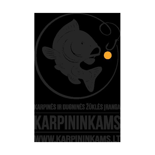 FOX Black Label Slik Bobbin Clip Gunsmoke kibimo indikatoriaus spaustukas (Dūminis)