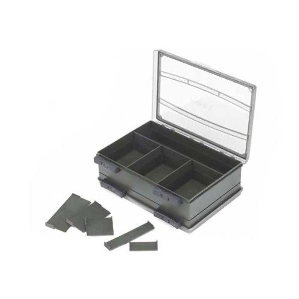 FOX Double Box Medium žuklės reikmenų dėžutė (Dvipusė, M dydis)
