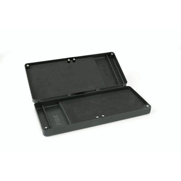 FOX Double Rig Box System inc. Pins dėklas pavadėliams (vidutinis)