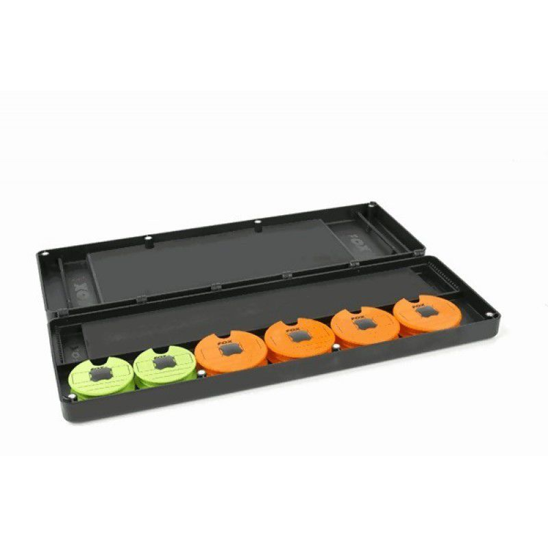 FOX F-Box Magnetic Double Disk & Rig Box System Inc. Pins & Disks pavadėlinė (didelė)