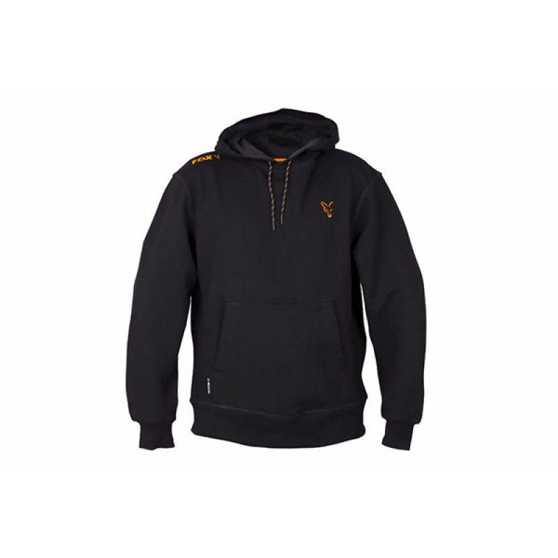 FOX Orange & Black Hoodie džemperis (L dydis)