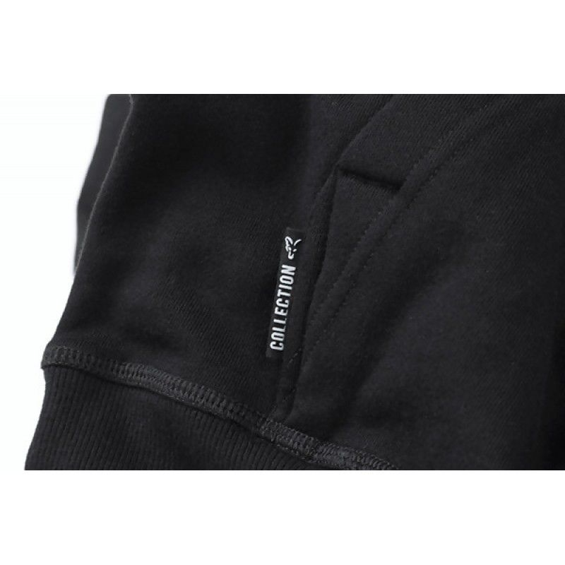 FOX Orange & Black Hoodie džemperis (XL dydis)