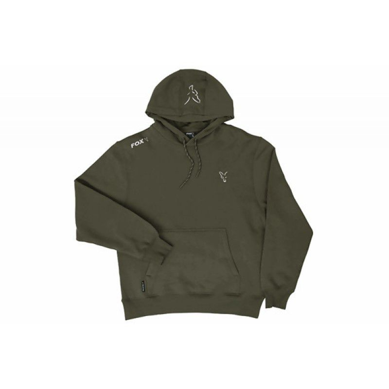 FOX Green & Silver Hoodie džemperis (3XL dydis)