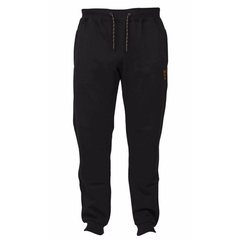 FOX Orange & Black Joggers kelnės (XL dydis)