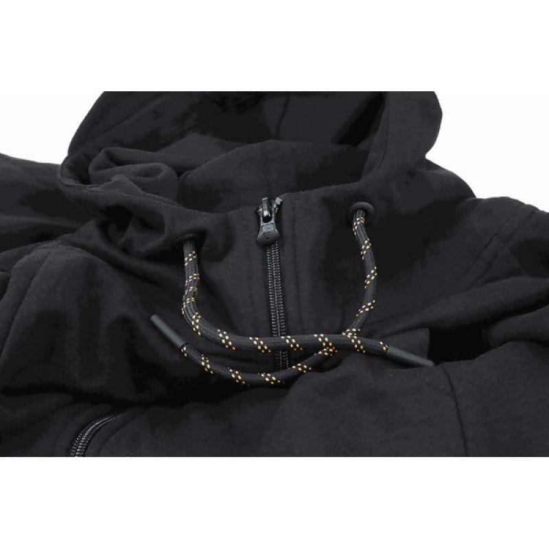 FOX Orange & Black Lightweight Hoodie džemperis (XL dydis)