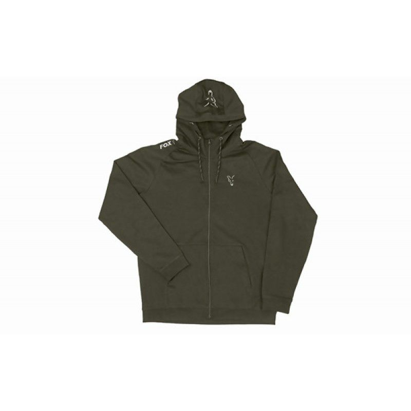 FOX Green & Silver Lightweight Hoodie džemperis (M dydis)