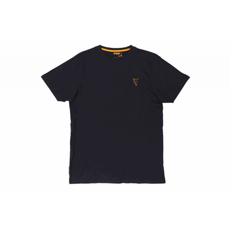 FOX Orange & Black T-shirt marškinėliai (XL dydis)