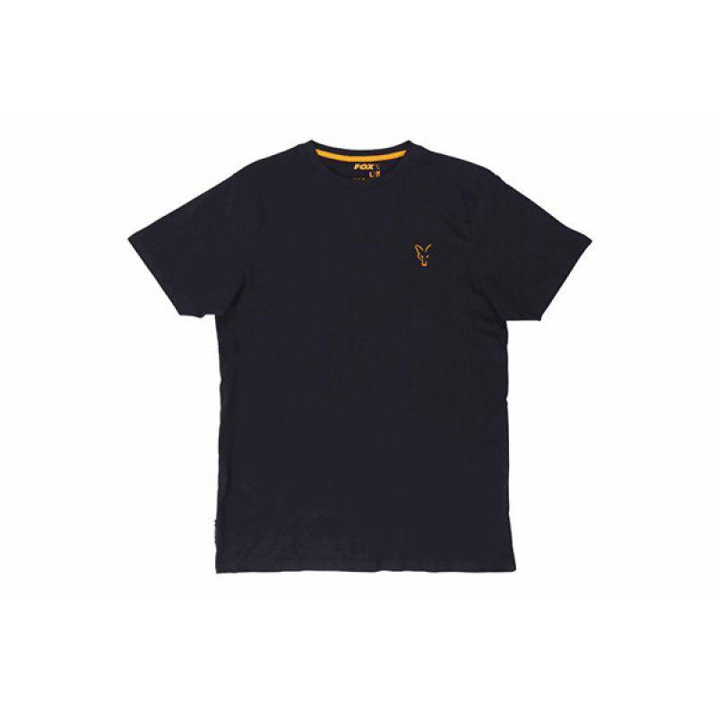 FOX Orange & Black T-shirt marškinėliai (2XL dydis)