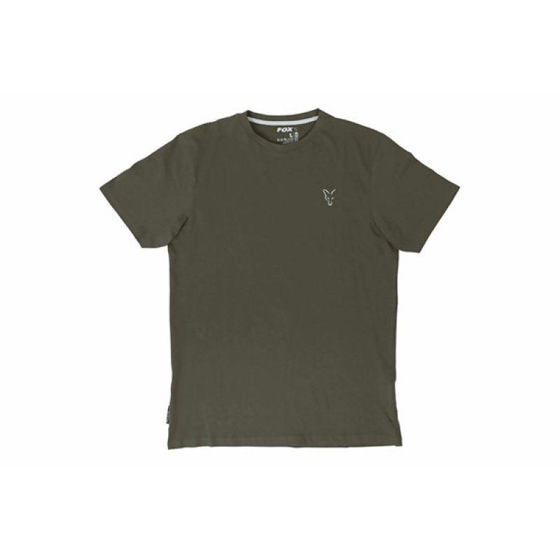 FOX Green & Silver T-shirt marškinėliai (L dydis)