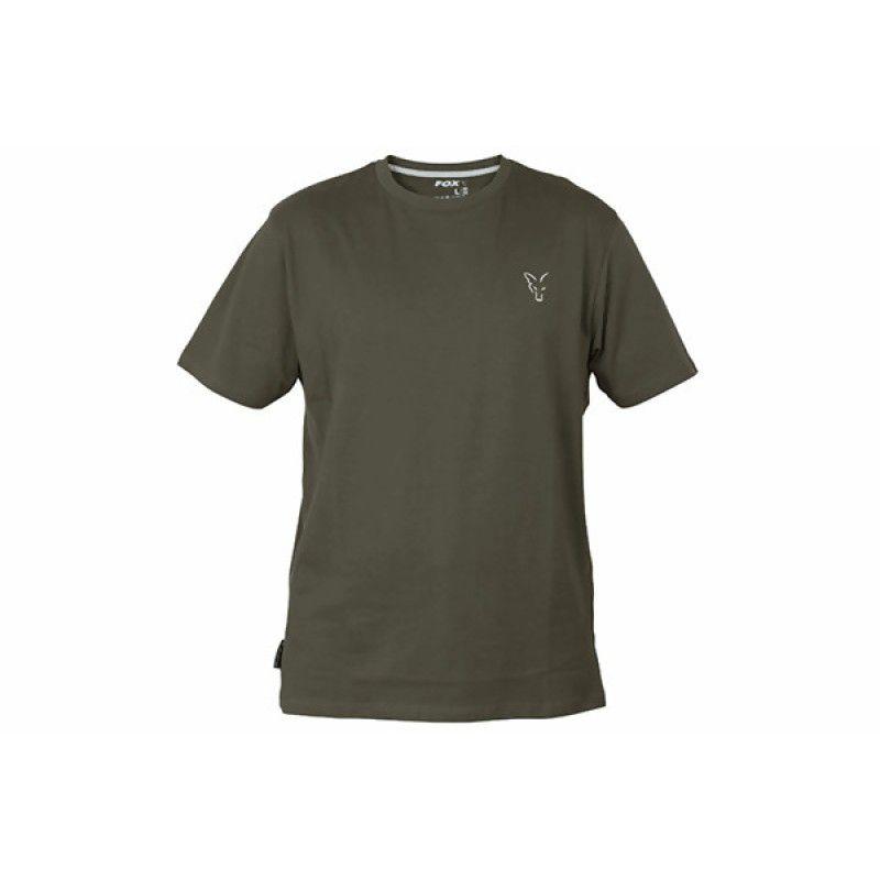 FOX Green & Silver T-shirt marškinėliai (2XL dydis)
