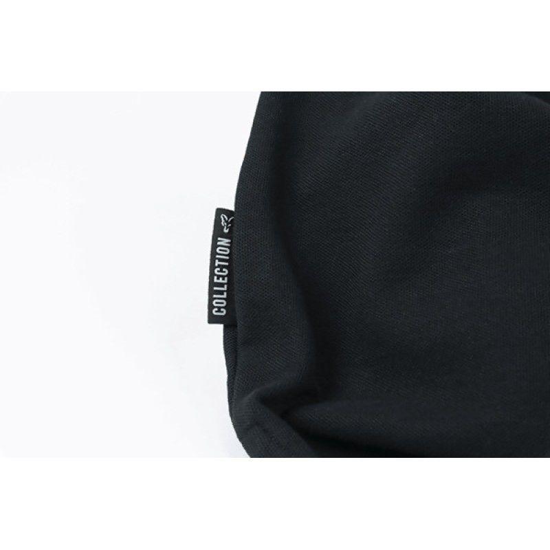 FOX Orange & Black Polo Shirt marškinėliai (2XL dydis)