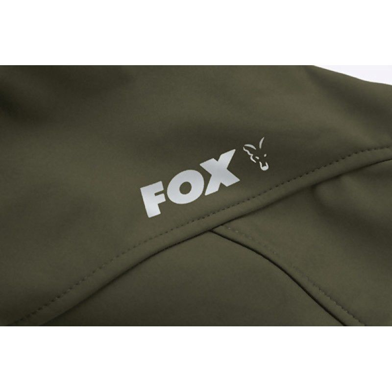 FOX Green & Silver Shell Hoodie džemperis (L dydis)