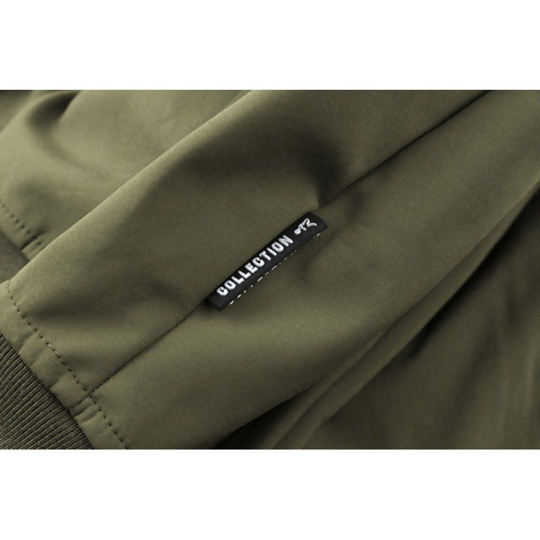 FOX Green & Silver Shell Hoodie džemperis (3XL dydis)