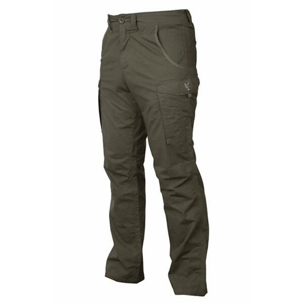 FOX Collection Green & Silver Combat Trousers kelnės (XL dydis)