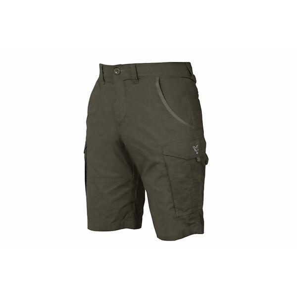 FOX Collection Green & Silver Combat Shorts šortai (S dydis)