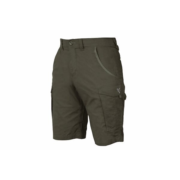 FOX Collection Green & Silver Combat Shorts šortai (XXXL dydis)