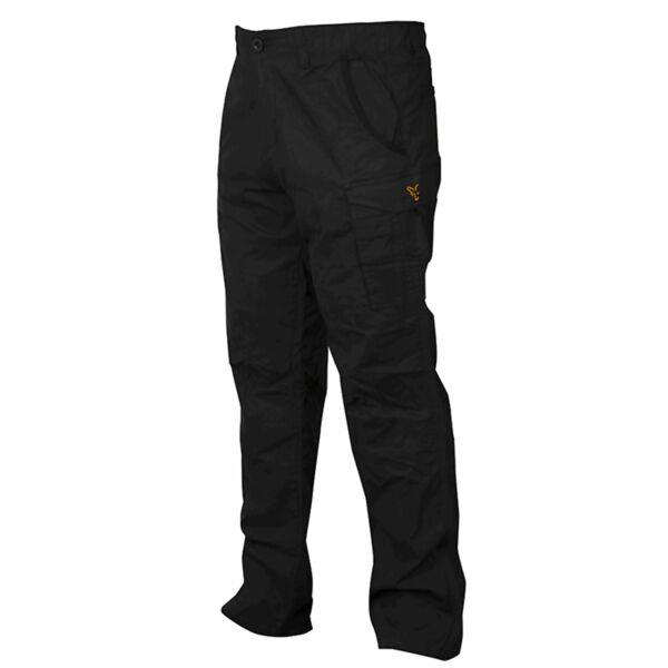 FOX Collection Black & Orange Combat Trousers kelnės (S dydis)