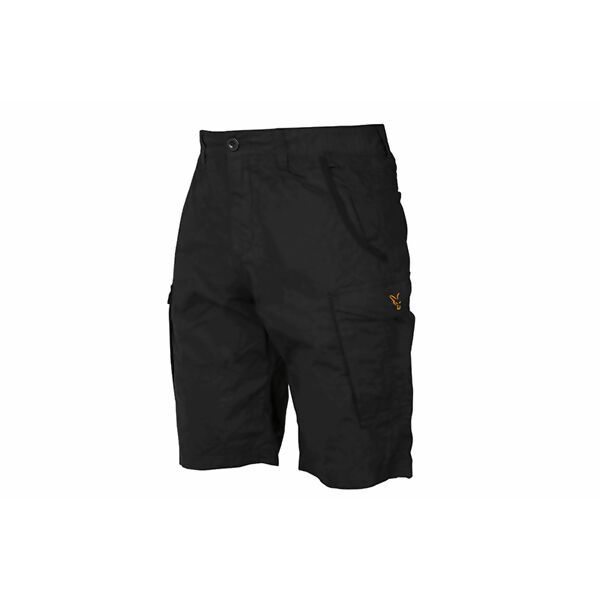 FOX Black & Orange Combat Shorts šortai (S dydis)