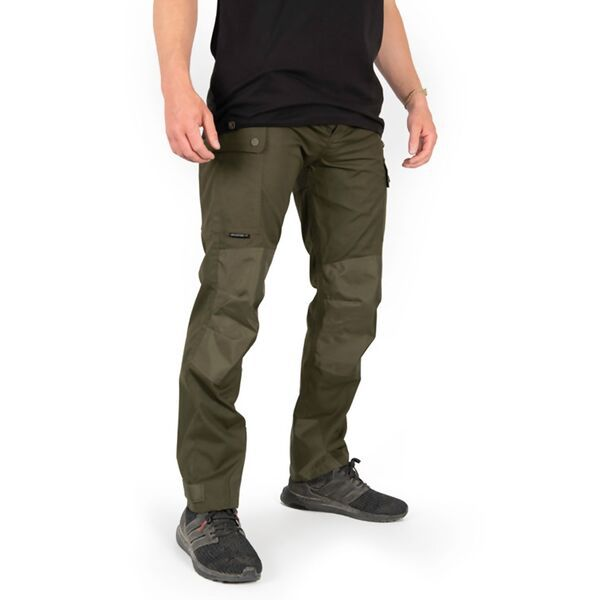 FOX Collection HD Green Un-Lined Trousers kelnės (3XL dydis)