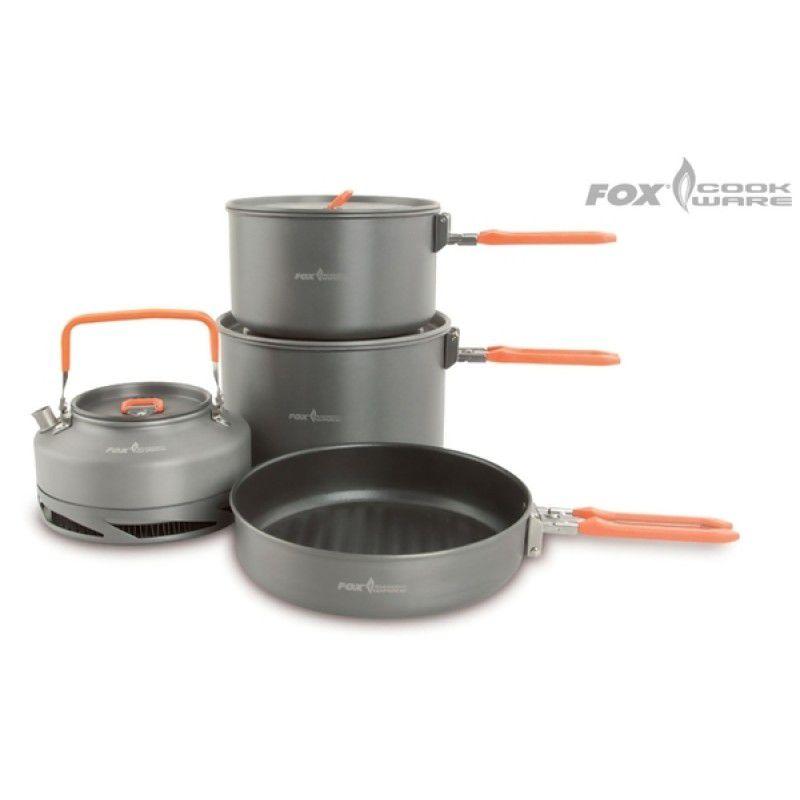 FOX Cookware Set puodų rinkinys (3 dalių)