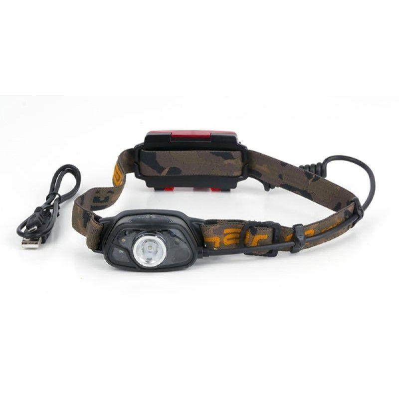 FOX Halo MS300C Headtorch prožektorius ant galvos