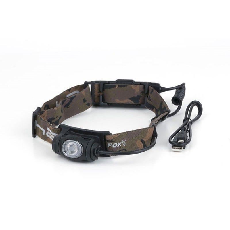 FOX Halo AL350C Headtorch prožektorius ant galvos