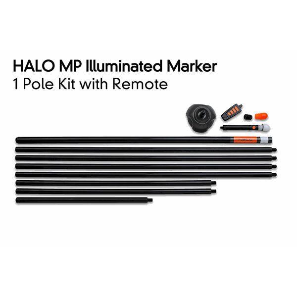 FOX Halo Illuminated Marker 1 Pole Kit inc. Remote markerio komplektas (1 vnt., su imtuvu)