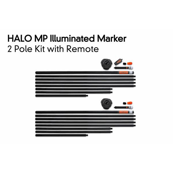 FOX Halo Illuminated Marker 2 Pole Kit Inc. Remote markerio komplektas (2 vnt., su imtuvu)