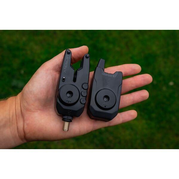 FOX Mini Micron X Bite Alarms Set kibimo signalizatorių komplektas (4 + 1, multi-color)