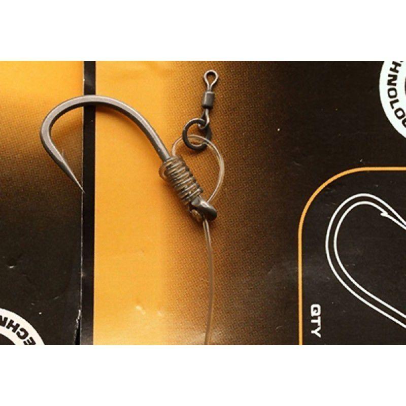 FOX Edges Stiff Rig Straight Hooks kabliukai (6 dydis)