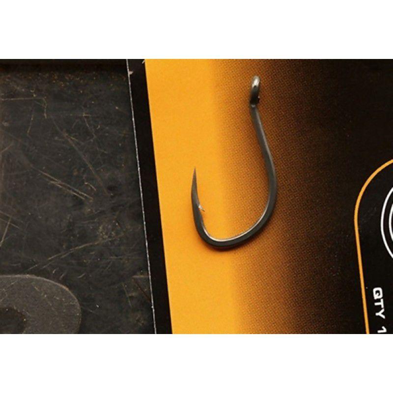 FOX Edges Stiff Rig Beaked Barbless Hooks kabliukai (8 dydis, be užkarpėlės)