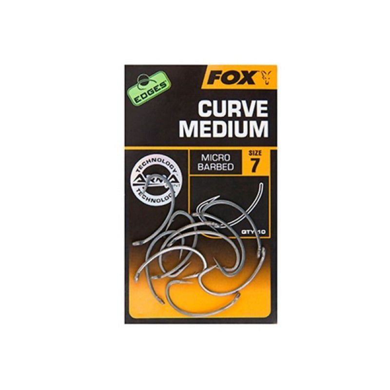 FOX Edges Curve Medium Hooks kabliukai (2 dydis)