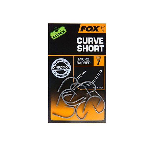 FOX Edges Curve Short kabliukai (2 dydis)