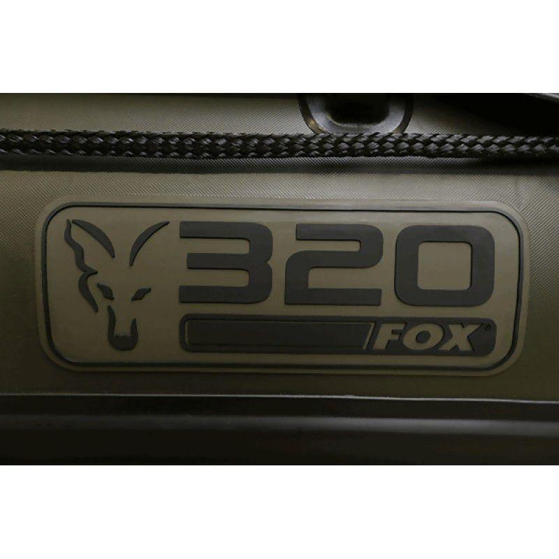 FOX 320 Inflatable Boat Green Aluminium Floor pripučiama valtis (3.2 m, aliuminio grindys)