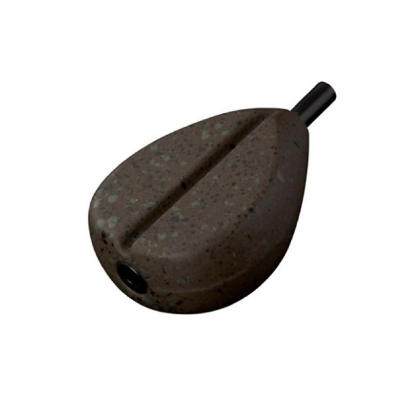 FOX Camotex Flat Pear Inline Lead svarelis (85 g / 3 oz)