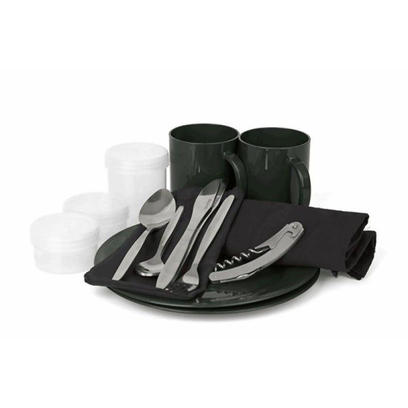 FOX R-Series 2 Man Dinner Set indų ir stalo įrankių komplektas